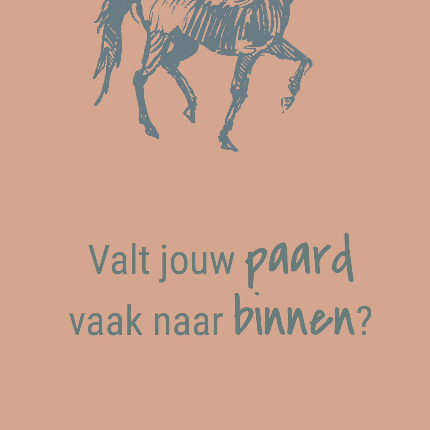 Horseprofessional_rijproblemen_paard naar binnen vallen